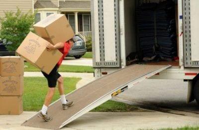 Möbeltransport ohne Mühen